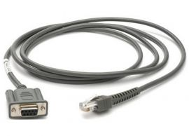 Zebra connection cable, RS-232