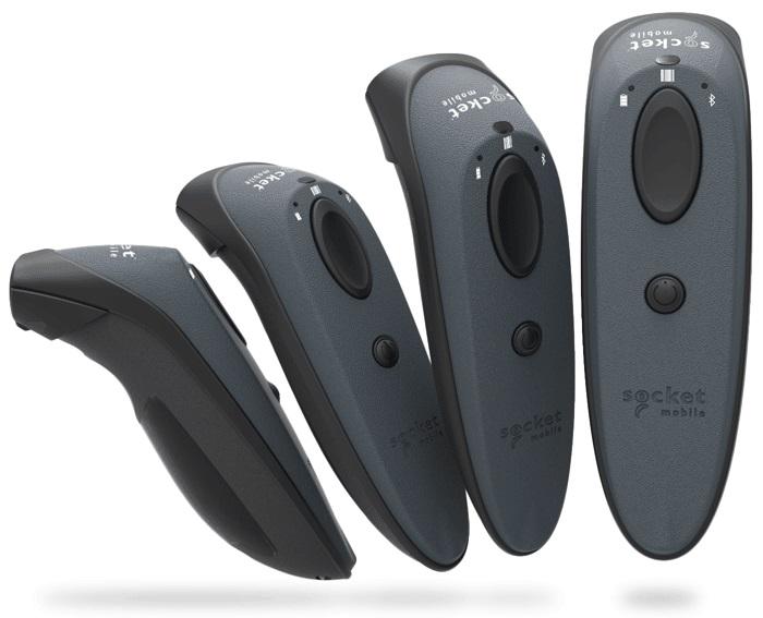 Socket DuraScan D730, 1D Barcode Scanner, BT, Gray